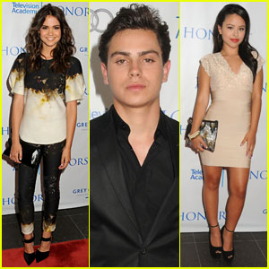 Maia Mitchell & Jake T. Austin: Television Academy Honors 'The Fosters'!