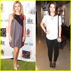 Adelaide Kane & Rose McIver Support 'Blood Punch' at Dances With Films Festival