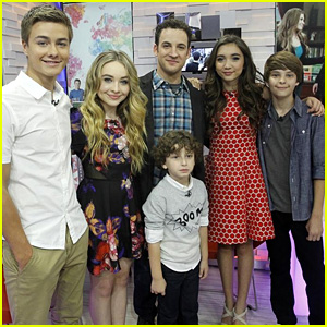 Rowan Blanchard & 'Girl Meets World' Cast Take Over 'GMA' - Watch Now!