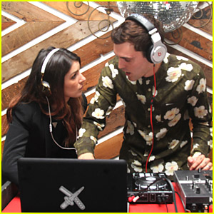 Shenae Grimes & Josh Beech DJ The LA Innovators Party
