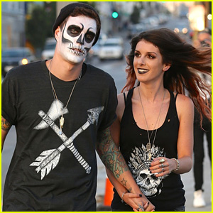 Shenae Grimes & Josh Beech Go Punk Rock for 'Two Halves' Photo Shoot