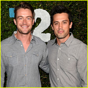 'One Tree Hill' Alums Stephen Colletti & Robert Buckley Reunite at Take-Two E3 Kickoff Party