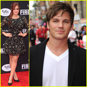 Ariel Winter & Matt Lanter Are All About 'Planes: Fire & Rescue'!