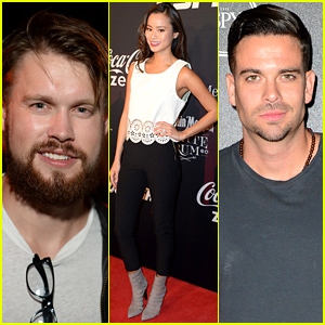 Chord Overstreet & Mark Salling Get Ready for ESPYs at Fun Pre-Party!