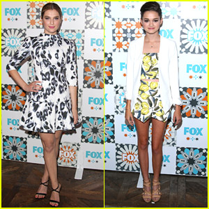 Ciara Bravo & Zoe Levin: 'Red Band Society' Cast Parties at TCA Fox All-Star Party