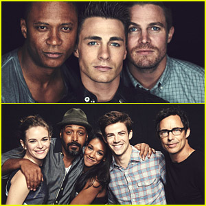 You Can Print Out These New Pics of 'Flash' & 'Arrow' Casts For Your Fan Wall Now