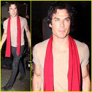 Ian Somerhalder Jets to Comic-Con After Spending the Weekend with Nikki Reed