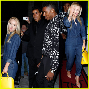 Iggy Azalea & Nick Young Couple Up for Post-ESPYs Dinner Date