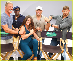 Kellan Lutz Picks on 'Expendables 3' Co-stars at Comic Con 2014