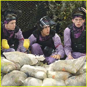 What A Friend -- Jack Ditches Jerry & Milton For Paintball Challenge on 'Kickin' It' Tonight!