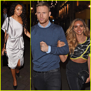 Little Mix Ladies Jade Thirlwall & Leigh-Anne Pinnock Double Date at Cirque le Soir