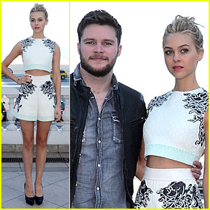 Nicola Peltz & Jack Reynor Hit the Beach for 'Transformers' Photo Call in Rio