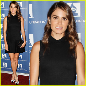 Nikki Reed Steps Out at Grammy Party After Spending the Day with Ian Somerhalder