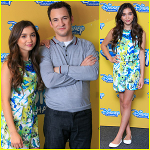 Rowan Blanchard & On-Screen Dad Ben Savage Bring 'Girl Meets World' to Spain