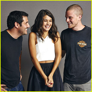 Sofia Black-D'Elia Promotes 'Project Almanac' at Comic-Con 2014