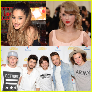 Taylor Swift, Ariana Grande, One Direction, & More to Headline iHeartRadio Music Festival 2014!