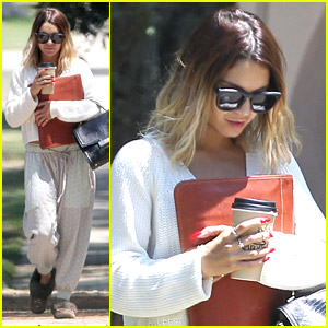 Vanessa Hudgens Chooses Comfort Over Style For Morning Acting Class