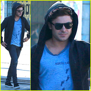 Who Did Zac Efron Go to Lunch With?