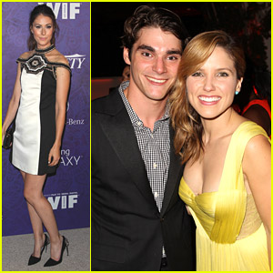 Silicon Valley's Amanda Crew & RJ Mitte Party It Up Over Emmys 2014 Weekend With Joey King