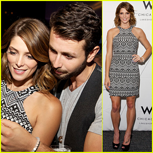 Ashley Greene & Paul Khoury Make Such a Cute Couple at W Hotel Party