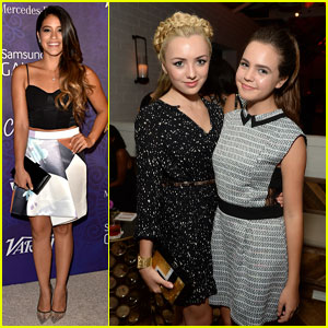 Bailee Madison & Peyton List Hang Out at the Variety Pre-Emmy Party!