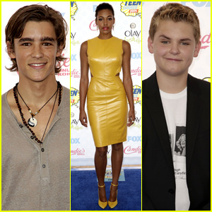 Brenton Thwaites & Reese Hartwig Hit the Teen Choice Awards 2014