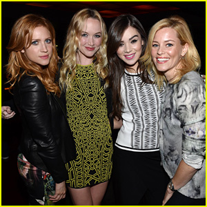 Pitch Perfect 2's Hailee Steinfeld & Brittany Snow Hit Up the Justin Timberlake Show!