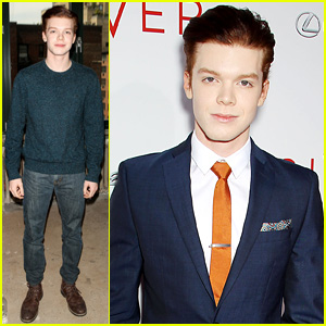 Cameron Monaghan Keeps it Sharp at 'The Giver' NYC Premiere
