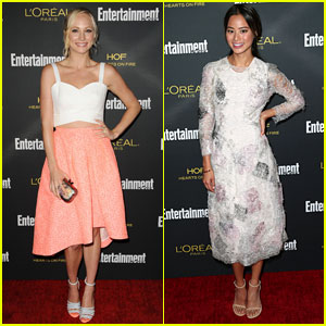 Candice Accola & Jamie Chung Keep it Light at Entertainment Weekly's Pre-Emmy Party!