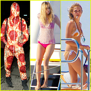 Cara Delevingne & Suki Waterhouse are Bikini Babes in Ibiza!