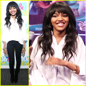 China Anne McClain Crushes on Michael B. Jordan!
