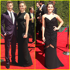 Derek Hough & Amy Purdy Reunite For Creative Arts Emmys 2014