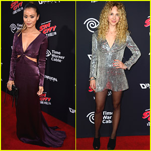 Jamie Chung & Juno Temple Sizzle at 'Sin City 2: A Dame To Kill For' Premiere
