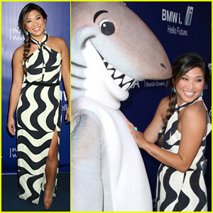 Jenna Ushkowitz Strikes a Pose at the SeaChange Summer Party!
