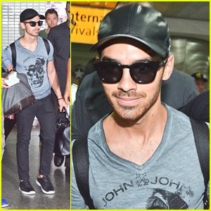 Joe Jonas Arrives in Brazil For John John Denim Event