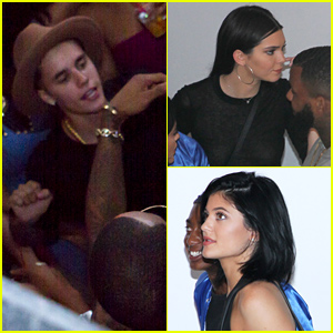 Justin Bieber, Kendall & Kylie Jenner Party at Pre-VMAs Event Before Suge Knight Shooting