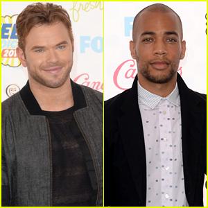 Kellan Lutz & Kendrick Sampson are So Swoonworthy at Teen Choice Awards 2014!