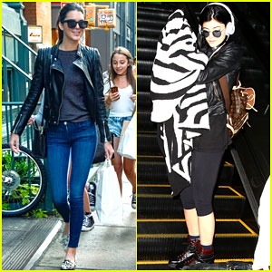 Kendall Jenner Gets Swarmed By Fans While Kylie Jets Back to L.A.