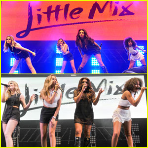 Little Mix Spreads Their Wings During Blackpool Performance!