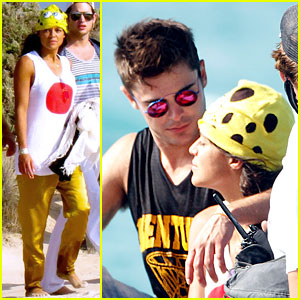 Zac Efron & Michelle Rodriguez Continue Their Summer Romance in Ibiza!