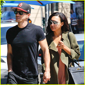Naya Rivera & New Husband Ryan Dorsey Grab Lunch at Birds Cafe