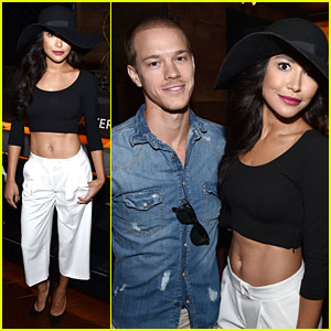 Naya Rivera Attends Justin Timberlake Concert with Husband Ryan Dorsey!