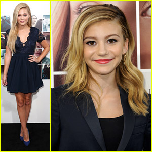 Olivia Holt & G Hannelius Hit Up 'If I Stay' Premiere in Hollywood