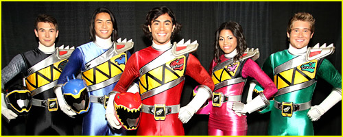 Power Rangers Dino Charge Cast Announced At Power Morphicon 2014!