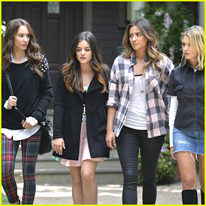 The 'Pretty Little Liars' Reunite & Renew Friendships in Summer Finale Tonight - See The Pics!