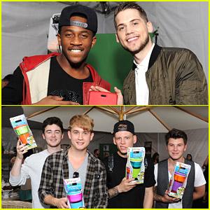 MKTO, Rixton & Alex & Sierra Take Over Backstage Creations Teen Choice Retreat - See The Pics!