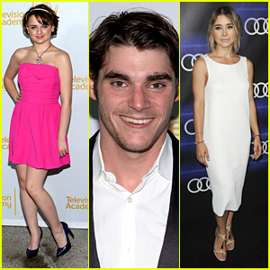 RJ Mitte Hits Up Two Emmy Parties For 22nd Birthday