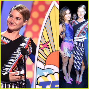 Shailene Woodley Is Your Choice Action Actress at Teen Choice Awards 2014!