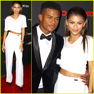 Zendaya Helps BFF Trevor Jackson Celebrate 18th Birthday Bash - See The Pics!