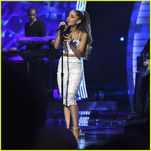 Ariana Grande Remembers Her Grandfather with a Song at Stand Up to Cancer 2014